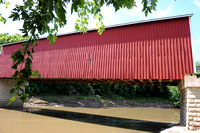 Wolf Creek Covered Bridge - Knox County IL