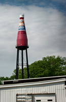 Worlds Largest Catsup Bottle - Collinsville
